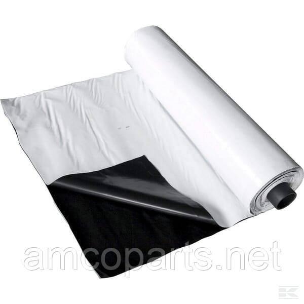 Плівка для заготівлі силосу 10X300 чорний / білий FARMA