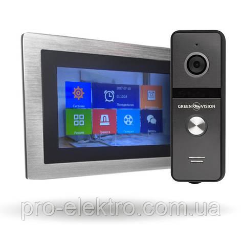 Комплект AHD видеодомофона GV-056 + Вызывная панель GV-003, фото 2