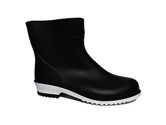 Гумові чоботи жіночі чорні красиві