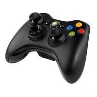 Геймпад Microsoft Xbox 360 Wireless Controller Black (Vibration Feedback - вибрационный обратная связь, работа