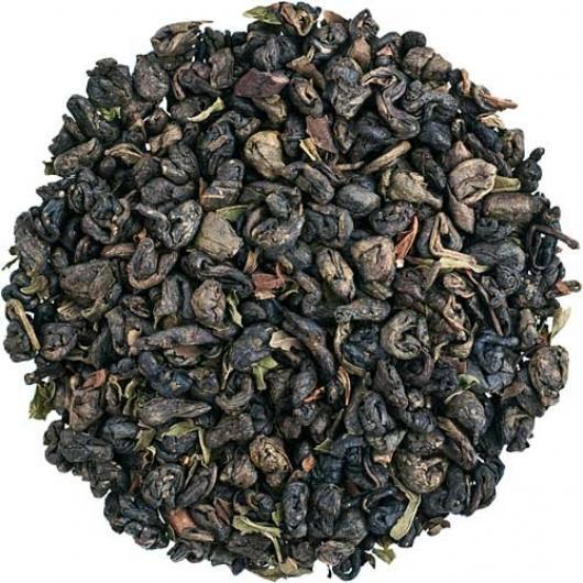 Чай Зеленый с мятой крупно листовой Tea Star 250 гр Германия