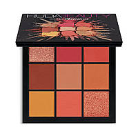 Палетка теней для век Huda Beauty Obsessions Eyeshadow Palette - Coral 10g (6291106032338), фото 1