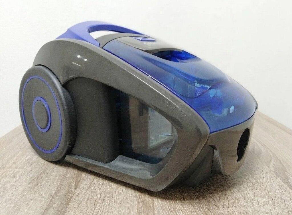 Пылесос  GRANDBERG GT-1604 синий dark blue 3000 W | пылесос контейнерный без мешка для сухой уборки