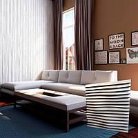 """Декоративна 3д панель """"Лінії"""" з високоякісного гіпсу Кнауф Р-10 50x50"""