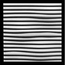 """Декоративная 3д панель """"Линии"""" из высококачественного гипса Кнауф Г-10 50x50, фото 3"""
