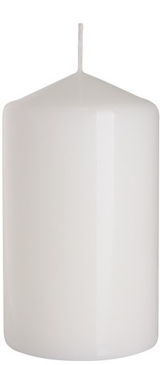 Свеча цилиндр белая Bispol 12 см (sw70/120-090)