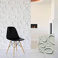 """Гипсовая 3д панель для кухни """"БРЫЗГИ"""" для декорирования стен и потолков 50x50"""