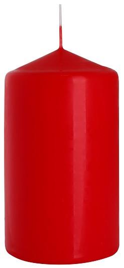 Свеча цилиндр красная Bispol 12 см (sw70/120-030)