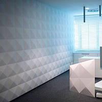 """Гипсовые 3д панели """"ГИЗА"""" из высококачественного гипса для отделочных работ 50x50"""