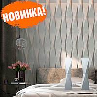 """Декоративна гіпсова 3д панель """"МЕТЕЛИК"""" для стін і стелі з гіпсу Кнауф Р-10"""