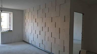"""3д панели с подсветкой """"LED квадраты"""" для внутренних работ и интерьера 25x25, фото 3"""