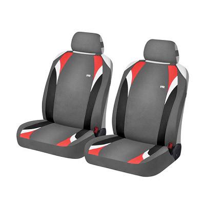 h&r hadar rosen Накидки Фронт для автомобильных сидений Hadar Rosen FORMULA, Серый/Красный 21146 1403