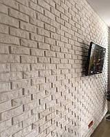 """Панель декоративна гіпсова 3Д """"Цеглинка"""" для обробки стін 50х50см"""