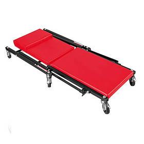Лежак автослесаря подкатной 2 в 1 Torin TR6505