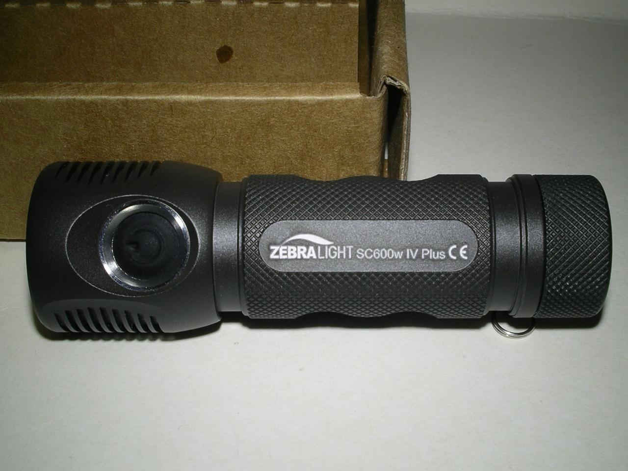 Фонарь Zebralight SC600w IV  Plus, Cree XH-P 50.2