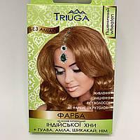 Природная краска для волос на основе хны пшеничный, 25 г, Триюга