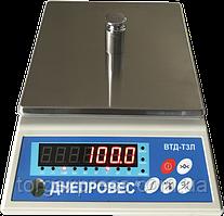 Весы фасовочные Днепровес ВТД-Т3Л до 6кг