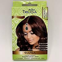 Природная краска для волос на основе хны TRIUGA, цвет мокко, 25 г
