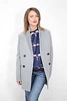 Пальто женское в стиле мужского пиджака короткое