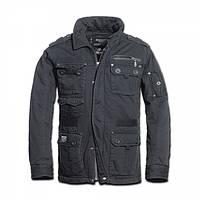 Куртка Brandit Platinum Vintage Black, фото 1