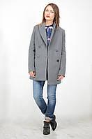 Женское пальто  двубортное, oversize