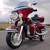 Детский мотоцикл Gold Wing: 12V, 70W, 8 км/ч, EVA - RED
