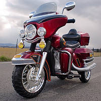 Детский мотоцикл Gold Wing: 12V, 70W, 8 км/ч, EVA - RED, фото 1