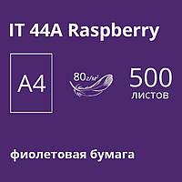 Цветная бумaга Spectra Color А4 (темный) 80г/м2 - 500л. 44А Rasberry - темно-фиолетовый