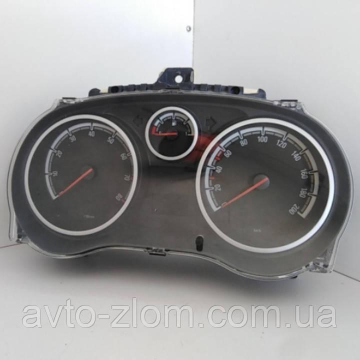 Щиток приборов Opel Corsa D, Опель Корса Д. 1,2 - 1,4. P0013312043.