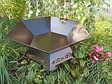 Костровая чаша с декором, 70 см, фото 7