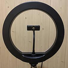 Кольцевая лампа 26 см RGB со штативом на 2м лампа для селфи лампа для тик тока, фото 3