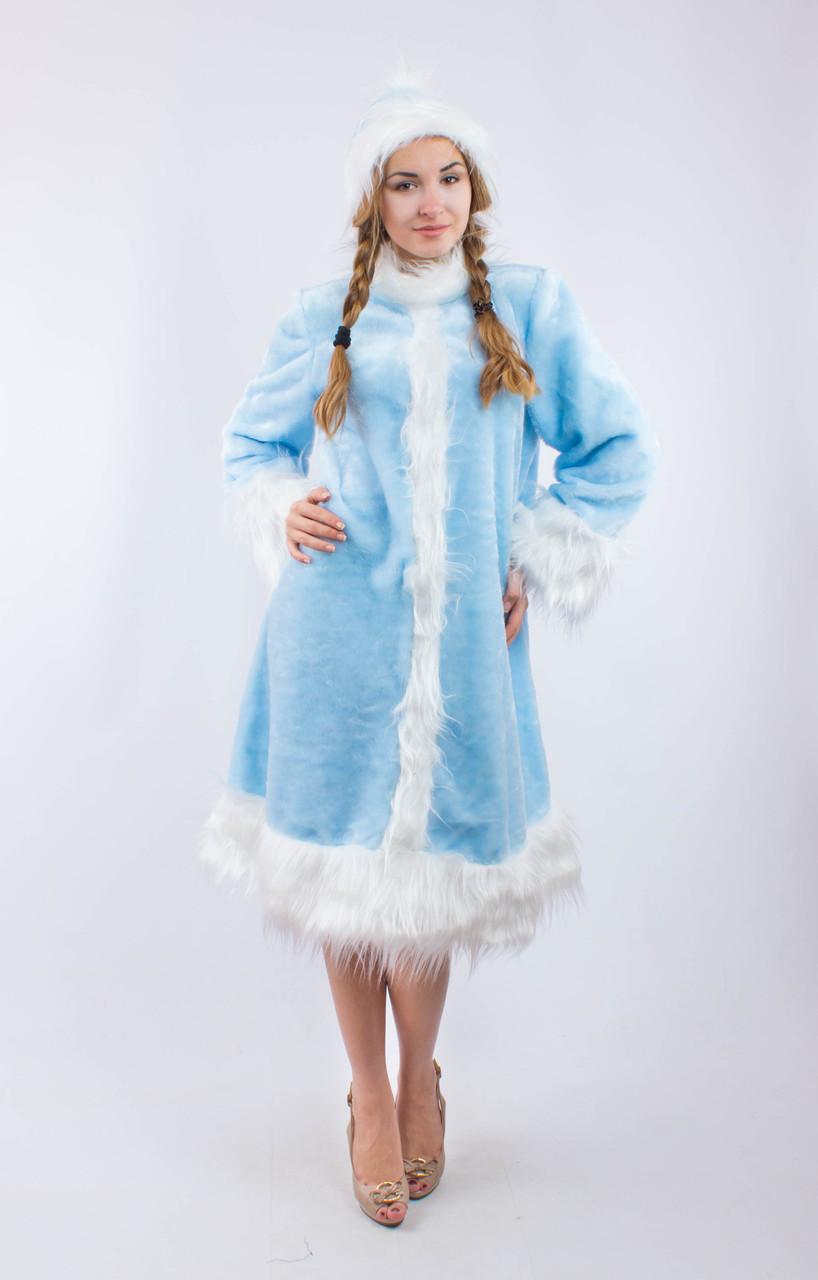 Купить Карнавальный костюм Снегурочки для взрослого в ... - photo#2