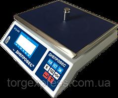 Весы фасовочные Днепровес ВТД-ФЛ до 30 кг