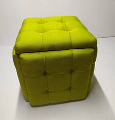 Пуф трансформер 5в1 квадратний, стильний, різнокольоровий