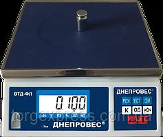Весы фасовочные ВТД-3/0,1ФЛ  Днепровес повышеной точности