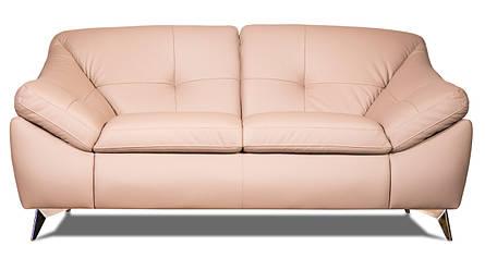 """Двомісний шкіряний диван """"Nebraska"""" (Небраска) (187см), фото 2"""