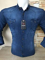 Рубашка  джинсовая G-port