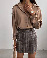 Женская стильная классическая рубашка