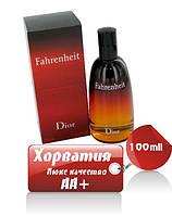 Сhristian dior Fahrenheit Люкс качество АА++ Хорватия  диор фаренгейт