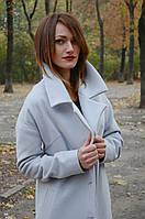 Пальто женское оверсайз (oversize) с поясом