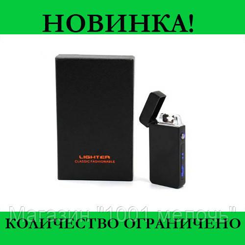 Зажигалка электроимпульсная USB 315