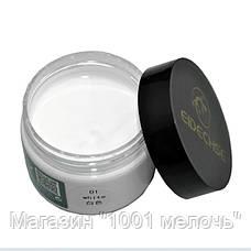 Крем-краска Белая (жидкая кожа) для кожаных изделий EIDECHSE, фото 3