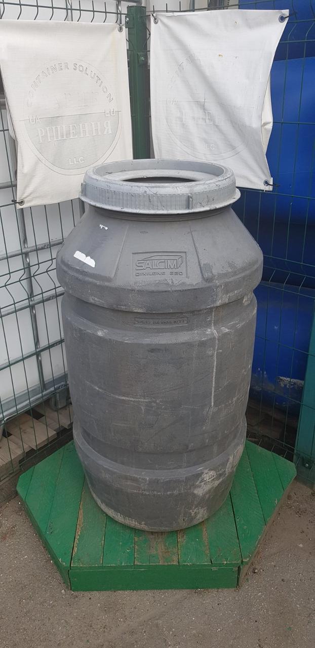 0244-12/1: С доставкой в Одессу ✦ Бочка (220 л.) б/у пластиковая