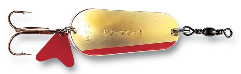 Блесна-колебалка DAM Effzett Scales 16гр 4,5см (серебро/золото с красной полоской)