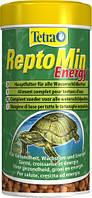 Сухой корм для водоплавающих черепах в гранулах ReptoMin Energy Tetra