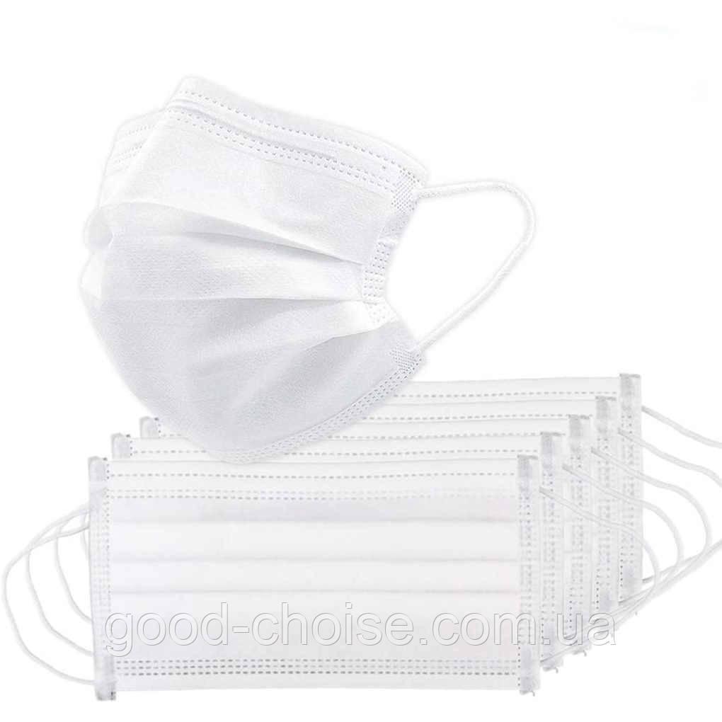 Одноразовая детская маска  50шт / Маска для лица