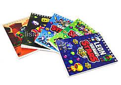 Блокнот Старс для заметок в клеточку (50 листов) с героями любимой игры Stars