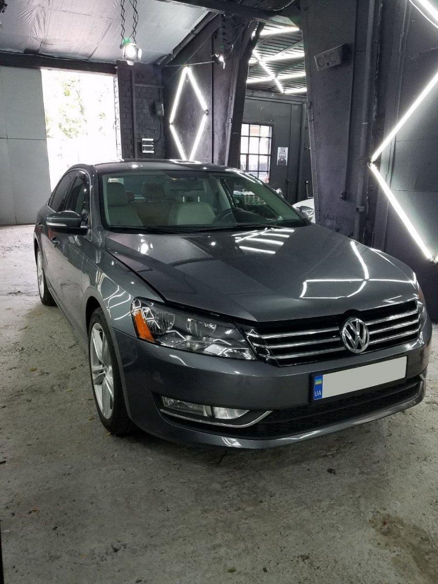 Регулировка фар Volkswagen Passat 2016