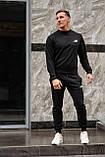 New Balance мужской хаки спортивный костюм осень весна.New Balance свитшот хаки штаны New Balance хаки, фото 4