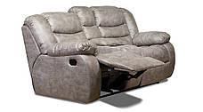 Двухместный диван реклайнер Манхэттен с баром, фото 3